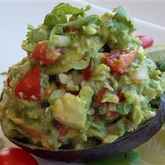"Chunky Paleo Guacamole | ""Quite possibly the best guacamole that I have ever made. Thank you so much for this wonderful, simple, and delicious recipe."""