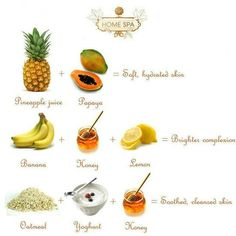Skin care tips! the body scrub and facial scrub to open your skin pores to help absorb and hydrate = perfect healthy skin
