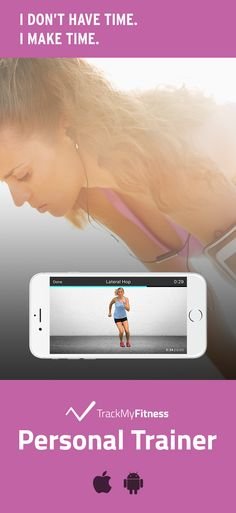 Stop spending your valuable time searching for workouts… Get your heart rate pumping using Personal Trainer's progress and calories burned tracking. Keep it fresh with new aerobic and cardio workout videos updated weekly! #trackmyfitness