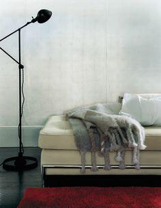 2007 Strathmore Paper / Luxury Found / Creative Director: Robert Valentine / Photography: Martyn Thompson #interiors #rug