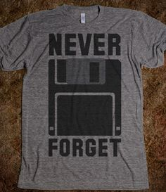 Never Forget The Floppy