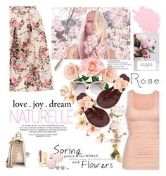 """""""rose love"""" by licethfashion ❤ liked on Polyvore featuring Ted Baker, Jimmy Choo, American Eagle Outfitters, Tory Burch, Yves Saint Laurent, polyvoreeditorial and licethfashion"""