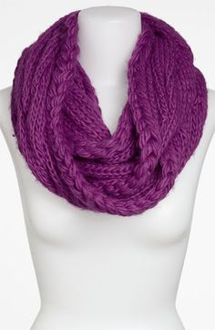 Infinity scarf. So cozy!