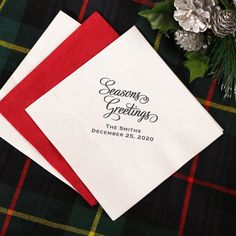 Personalized Party Napkins by Beau-coup