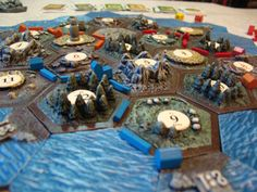 Ready for the Holidays 3D Settlers of Catan in a by Leifkicker