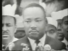 "Dr. Marting Luther King ""I Have A Dream"" Speech (August 28, 1963) ~ ""When we let freedom ring, when we let it ring from every village and every hamlet, from every state and every city, we will be able to speed up that day when all of God's children, black men and white men, Jews and Gentiles, Protestants and Catholics, will be able to join hands and sing in the words of the old Negro spiritual, 'Free at last! free at last! thank God Almighty, we are free at last!'"""
