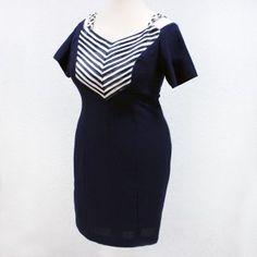 Look marinero, también en moda fiesta #lookmarinero #looknavy #tallasgrandes #modafiesta