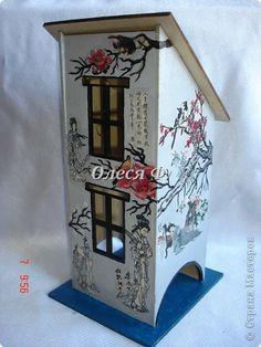 Декор предметов Декупаж Чайный домик  фото 1