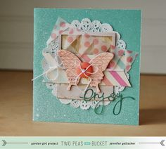 Jen Gallacher: Seeing Double: Born to Dance Layout and Card + VIDEO!