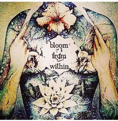 Stay centred and let all things you do, say or create, stem outwards from that centre, from that 'core' place within you. Listen from within and be guided...take the time for yourself to do this, no matter how fast others may be moving. Go at your own pace and unfold and bloom when you are ready. ~ S