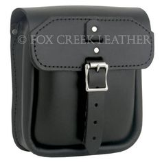 Slimline Sissy Bar Bag | $82.00 | Fox Creek Leather Carries Only The Highest Quality, Made in USA Leather Motorcycle Jackets, Products, Clothing Leather Goods.
