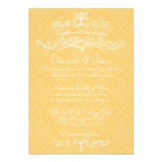 Simple Luxury Gold Damask Wedding Invitations so please read the important details before your purchasing anyway here is the best buyReview          Simple Luxury Gold Damask Wedding Invitations lowest price Fast Shipping and save your money Now!!...