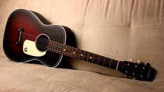 GRETSCH JIM DANDY FLAT TOP G9500 TOBACCO SUNBURST | Als Music Factory