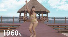 História da moda praia – Mais de cem anos de maiôs biquínis