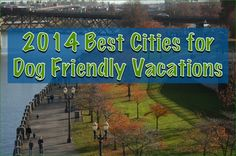 Voted by GoPetFriendly.com readers - these eight cities are the 2014 Best Cities for Dog Friendly Vacations!
