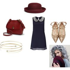 Untitled #1 by abby-ang on Polyvore featuring polyvore, fashion, style, Lipsy, Valentino, Lauren Ralph Lauren, Elsa Peretti and Brooks Brothers