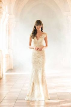 Simple Allure gown [=