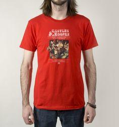 Castles & Koopas T-Shirt - Super Mario Bros T-Shirt is $12 today at Busted Tees!