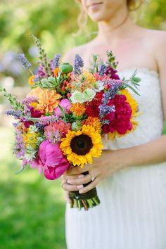 Wedding flower, bridal bouquets
