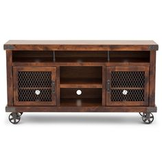 The St Louis TV Stand is the perfect combination of rustic and industrial. Classic Furniture, Unique Furniture, Cheap Furniture, Industrial Furniture, Rustic Furniture, Painted Furniture, Tv Stand Furniture, Living Room Furniture, Home Furniture