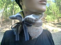 Faux fur collar project for next winter