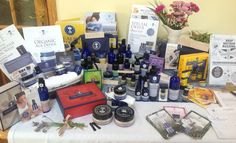 A lovely selection of NYR Organic goodies on display at the last open house