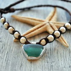 Seaglass and Silver
