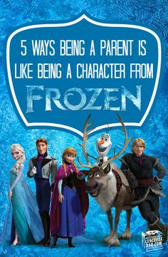 5 Ways Being a Parent is Like Being a Character From Disney's FROZEN #FROZENFun #shop #cbias