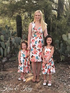 a0c491511949de Mother Daughter Matching Dress | Mommy and Me Outfits | White Floral Dress  | Mommy and Me Dress | Matching Family Outfits