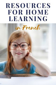 Resources for learning at home in French Language Study, Learn A New Language, French Language, Home Learning, Learning Activities, Learning Tools, World Languages, Kids Story Books, Teaching French