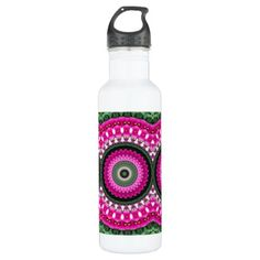 Bright and Cheery KM Water Bottle - photography gifts diy custom unique special