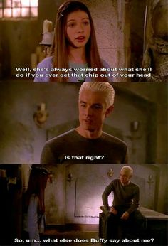When Spike first fell ... in love ... with Buffy ... ♡♡♡