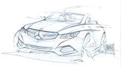 Mercedes benz sketch