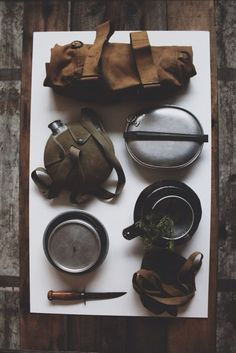 Vintage Boy Scouts of America Rucksack & Mess kit