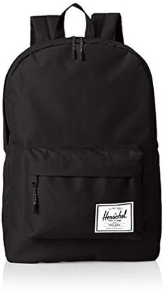 Herschel Supply Co Classic Black Textile Backpacks Luggage ** Awesome product. Click the item shown here : Backpacking bags Herschel Rucksack, Black Backpack, Herschel Luggage, Cute Backpacks For School, Cool Backpacks, Stylish Backpacks, Ladies School Bag, School Bags, Bedrooms