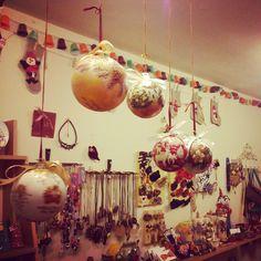 . Yellow Shop, Christmas Bulbs, Holiday Decor, Home Decor, Decoration Home, Christmas Light Bulbs, Room Decor, Interior Design, Home Interiors