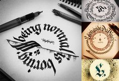 Tolga Girgin calligraphy http://ministryoftype.co.uk/words/article/tolga_girgin/