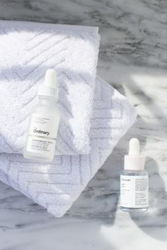 """Glossier Super Pure vs The Ordinary Niacinamide + Zinc Serum Serums. They seem to be my new """"thing."""" Glossier Super Pure vs The Ordinary Niacinamide + Zinc Serum Never. The Ordinary Dupes, The Ordinary Serum, Glossier The Supers, Glossier Dupes, The Ordinary Niacinamide, The Ordinary Skincare Routine, Skincare Dupes"""