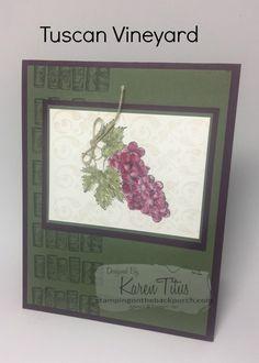 tuscan vineyard card