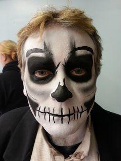 Halloween, Voodoo Priest, skull, Dia De Los Muertos, King's Island Haunt 2014