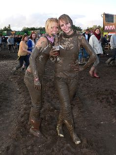 Festival of mud and rock in Denmark