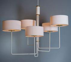 T59 Quintet chandelier by Martin Huxford