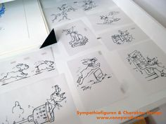 """""""Character Design"""" - ein neues Wesen entsteht für www.haberland-beratung.de in München"""