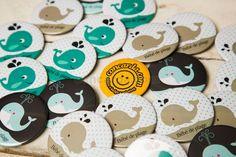 Κονκάρδες δελφινάκια για baby shower, παιδικό πάρτυ, βάπτιση μόνο στο concarda.com