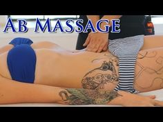 ▶ Front Massage Abs & Tummy ; How To Do Swedish Massage Therapy Techniques; Full Body Massage Part 2 - YouTube