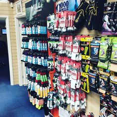 Blisters are a pain dont let them stop you enjoying the @londonmarathon this weekend. Plenty of high end running socks available in store #sock #londonmarathon #ukrunchat