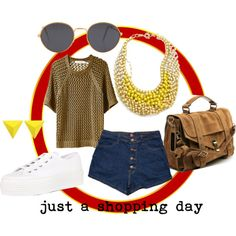 """""""just a shopping day"""" by dorin-mood on Polyvore"""