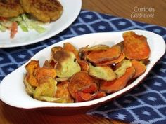 Baked Sweet Potato Chips • Curious Cuisiniere