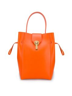 Clementine Leather Sloane Small Bucket Bag