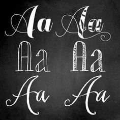 We and the Color -- Hand Lettering Fonts